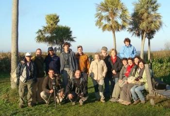 Foto de Nuestro grupo en los Esteros del Iberá