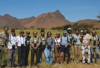 Foto de Nuestro grupo cerca de Alnif