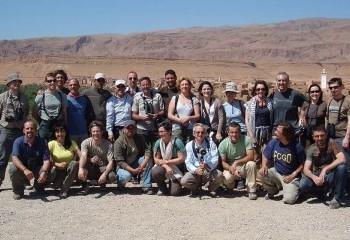Foto de Grupo en el palmeral del Tohdra