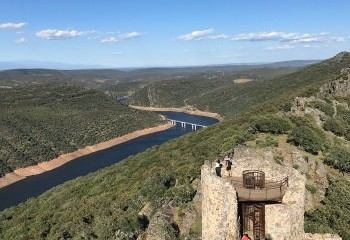Foto de View of Monfragüe from its castle (Extremadura)
